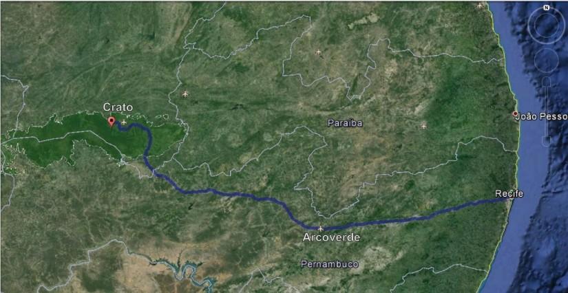 Field Trip Guide Crato Formation NE Brasil Tiago Miranda - Crato map